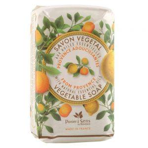 Vegetabilsk sæbe Citrus med æteriske olier