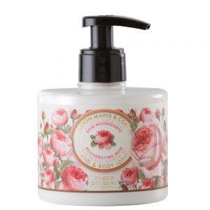 Hånd & body lotion rose 300ml