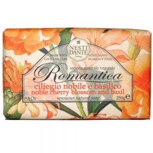 250g Sensuous natural soap Nobel cherry blossom & basil