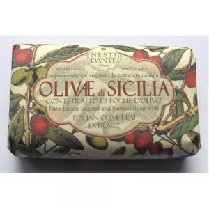 150g Fine Natural soap Olivae di Sicilia