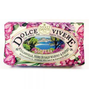 250g Fine Natural soap Sicilia