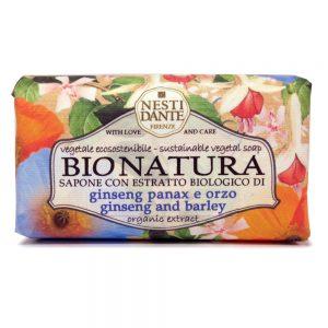 250g Fine natural Bionatura soap ginseng & Barley