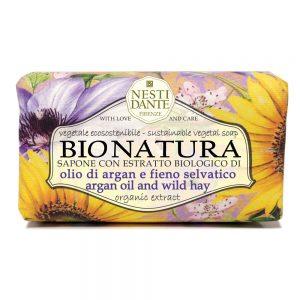 250g Fine natural soap Bio Natura argan oil & wild hay