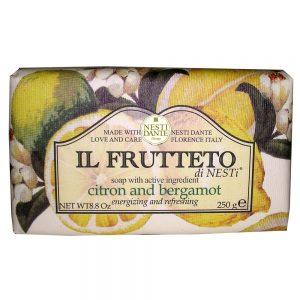 250g Fine Natural soap Citron & Bergamot