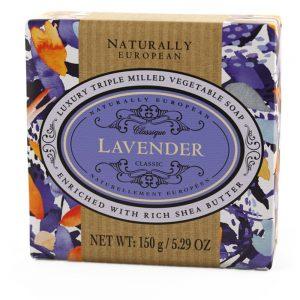 Triple milled soap Lavendel 150g