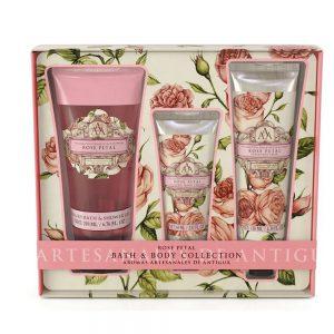 Bath & Body gavesæt Rose petal