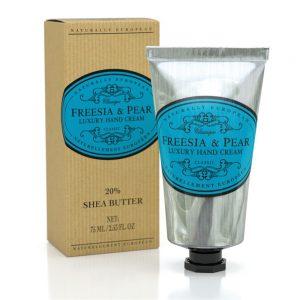 Luxury hand cream Freesia & pear 75ml.