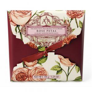 AAA Floral badesalt rose petal 150g
