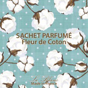Fransk duftpose cotton flower