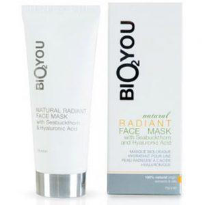 Natural radiant face mask m/havtorn & hyaluronic acid 75ml