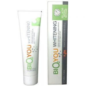 Naturlig Tandpasta Whitening 100ml m/havtorn, mint olie og salvie ekstrakt