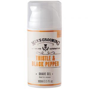 Shave gel 100ml Thistle & black pepper