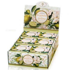 Vegetabilsk sæbe Bergamotte & gardenia 100g