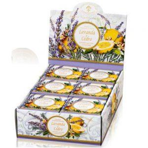 Vegetabilsk sæbe lavendel & citron 100g