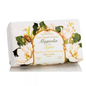 Vegetabilsk sæbe Magnolia & lindeblomst 250g