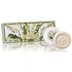 Vegetabilsk sæbe liljekonval i æske