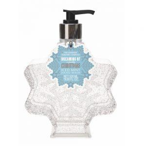 Hand wash glittery snowflake 500ml