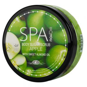 Body sugar scrub Apple with almond oil 200ml