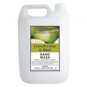 Hand wash 5L French Lime & Basil