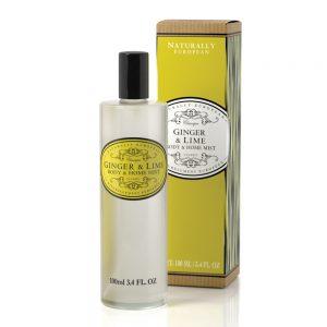 Room spray / Body mist 100ml Ginger lime