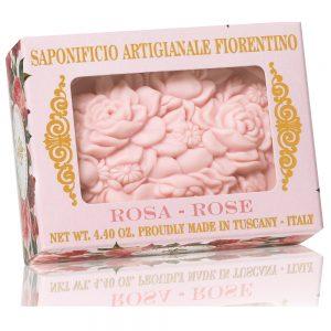 Vegetabilsk sæbe 125g Rose