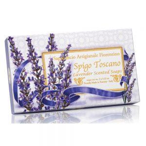 Vegetabilsk sæbe Lavendel 3 x100g
