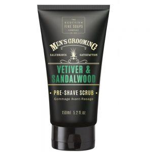 Pre shave scrub Vetiver & Sandelwood 150ml