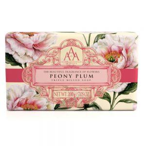 Triple Milled soap Peony plum 200g