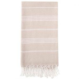 Hammam Håndklæde 95 x 180cm Sand