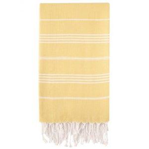 Hammam Håndklæde 95 x 180cm Gul