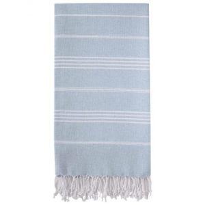 Hammam Håndklæde 95 x 180cm lyseblå