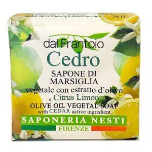 100g Fine natural olive oil  soap m/Cedro & citrus