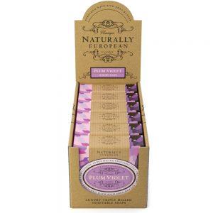 Triple milled soap Plum violet 150g