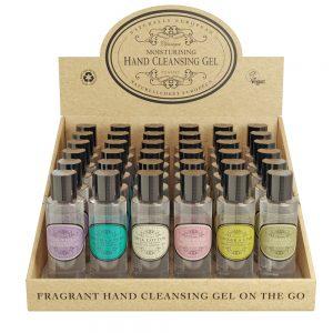 Moisturising hand cleansing gel 68% alcohol