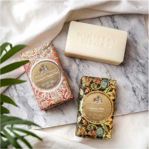 Triple milled soap Patchouli & oriental fruit 200g